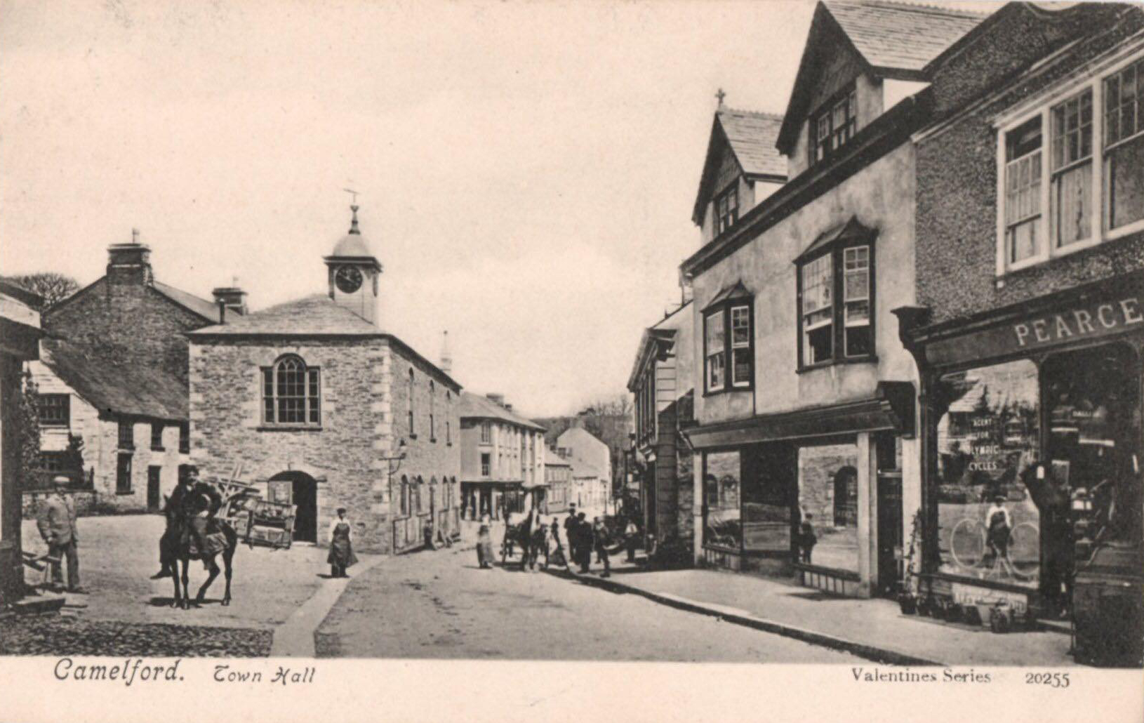 History of Camelford