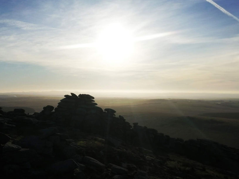 Dramatic photography of Roughtor, Bodmin Moor