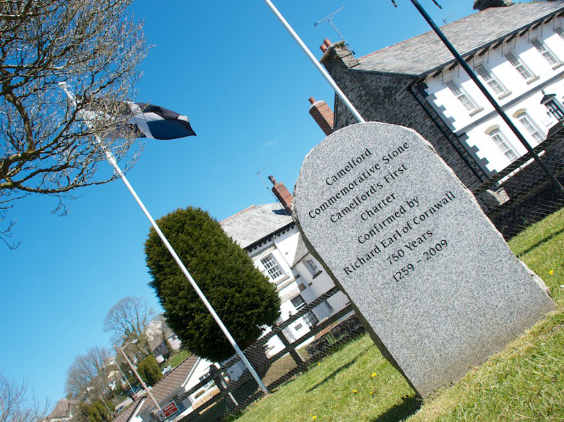 Walk around Camelford town and park